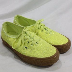 VANS Ice Cream Glitter Yellow Skate Sneakers